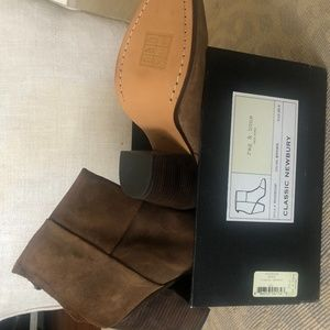 Rag and Bone Classic Newbury Brown 39.5 (8.5)